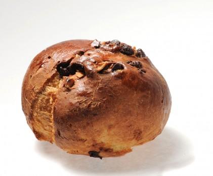 Brioche chocolat noir, noisette