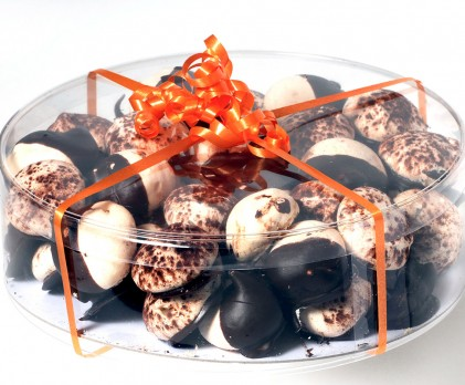 Meringues chocolat-orange